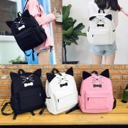 BowTie Cat Backpack mc333 RE1