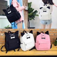 BowTie Cat Backpack mc333 RE1