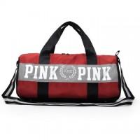 MC339 - High School Stylish Travel Pouch Pink Design Gym Bag