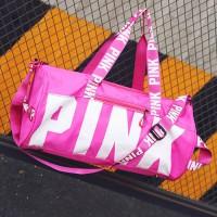MC343 - Pink Trending Weekender Pouch Travel Duffel Bag RG3
