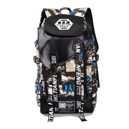 MC352 Cool Trending Graffiti Large Backpack Travel College School Daily Bag