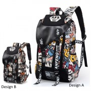 Cool Trending Graffiti Large Backpack Travel College School Daily Bag MC352 YS3
