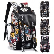 Cool Trending Graffiti Large Backpack Travel College School Daily Bag MC352 RA5