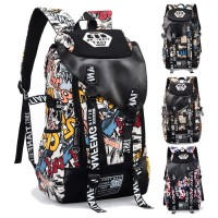 Cool Trending Graffiti Large Backpack Travel College School Daily Bag MC352 RA3