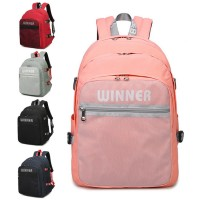 New Trend Transparent Net Pocket Multi-Compartment Backpack mc358 RB4