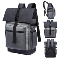 Urban Stylish Oxford Fabric Daily Laptop Backpack mc366 E1 (Free Gift)