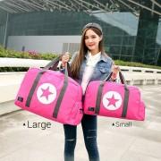 Unisex Extra Large Travel Nylon Duffel Weekender Bag mc344 H2