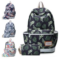 Girl Durable HD Printing Cute Design Daily Backpack mc364 H2 (Free Gift)