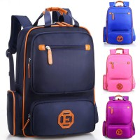 Unisex Kids High Quality Box Design Primary School Student Backpack mc374 RB1