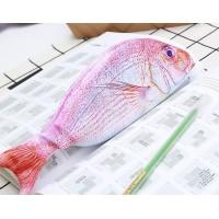 Fish Design Funny Pencil Box