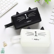Cat Design Pointy Ears Funny Pencil Box