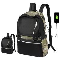 Unisex Urban Convenient Design Daily College Student Backpack mc386 H1