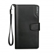 [Authentic] Baellerry Man Black / Coffee Exquisite Leather Long Wallet MC407 A1