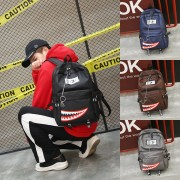 Unisex New Trend Stylish Shark Nylon Fashion Backpack mc396 A4