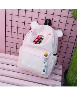 Girl New Trending Design Cute Bear / Rabbit / Cat Daily College School Backpack MC399 M2