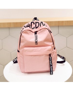Girl Words On Top Fashion Casual Daily Backpack mc402 YB1