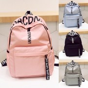 Girl Words On Top Fashion Casual Daily Backpack mc402 AK1 (Free Gift)