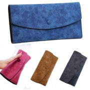 Woman Quality Matte Texture Leather Wallet Multiple Card Slots MC420 A2