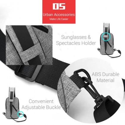 Man City Urban Slim Design Chest Pouch Shoulder Sling Bag mc428