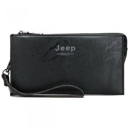MC429 [Authentic] JEEP Man Exquisite Leather Clutch Bag / Beg Tangan Lelaki