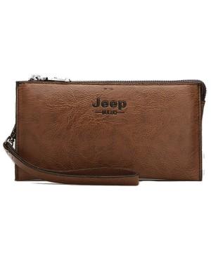 [Authentic] JEEP Man Exquisite Leather Clutch Bag / Beg Tangan Lelaki MC429 A2