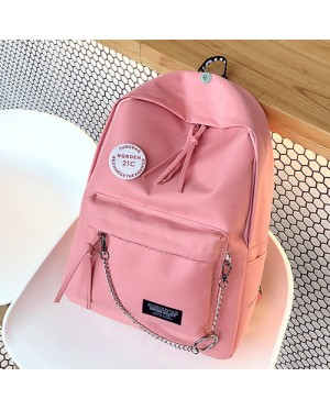 Girl Trending Design Daily School College Canvas Backpack MC405 YL1