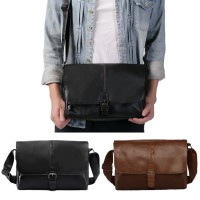 Man Casual Daily Exquisite Classic Leather Sling Messenger Bag MC425 YD2