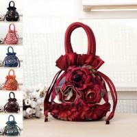 Lady Rose Design Simple Handbag / Hand Carry Bag MC424 YD2