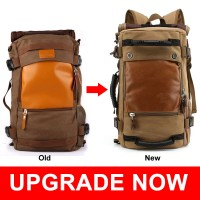 MC288 - 15.6 Inch Laptop New Design Multifunctional Travel Canvas Backpack / KAKA Brand Durable Cool YR1