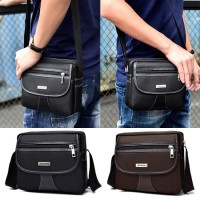 Man Shoulder Crossbody Durable Oxford Nylon Sling Bag M464 YF1