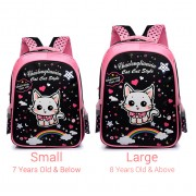Girl Cute Rainbow Cat Design Cartoon Primary School Preschool Student Backpack MC434 YF1