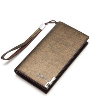Baellerry Special Stylish Edition Man Long Wallet Dompet Lelaki Leather MC442 RH3