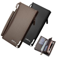 Baellerry Special Stylish Edition Man Long Wallet Dompet Lelaki Leather MC442 A2