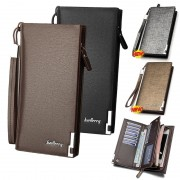 Baellerry Special Stylish Edition Man Long Wallet Dompet Lelaki Leather MC442 RH3