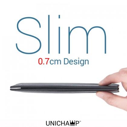 MC443 Man Slim Design Thin Leather Wallet Dompet Lelaki Nipis