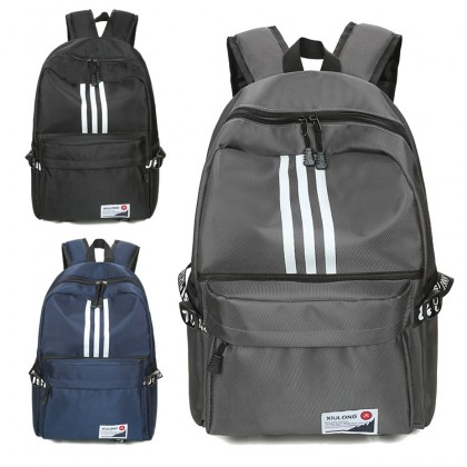 MC458 Unisex College Couple Daily Casual Nylon Backpack