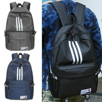 Unisex College Couple Daily Casual Nylon Backpack MC458 RF5