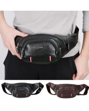 Man Leather Waist Pouch Bag Beg Lelaki Sling Stylo MC439 YG1