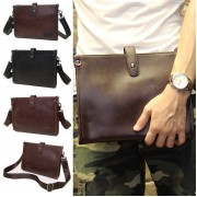 Man 2 Ways Carrying Leather Sling / Clutch Bag Beg Lelaki Tangan MC449 YY