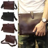 Man 2 Ways Carrying Leather Sling / Clutch Bag Beg Lelaki Tangan MC449 YY