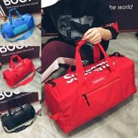 Unisex Nylon Travel Weekender Bag Duffel Gym Sport Beg MC447 YE2
