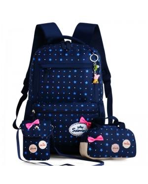 Kids Girl Primary School Buy 1 Get 3 Cute Cushion Padded Backpack mc435 YF2