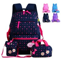 Kids Girl Primary School Buy 1 Get 3 Cute Cushion Padded Backpack mc435 RF3