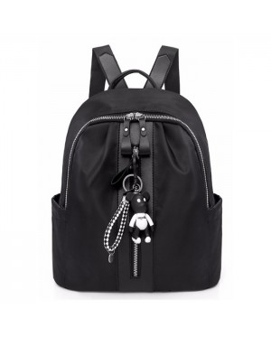 Woman Casual Small Daily Convenient Nylon Backpack mc438 YE2