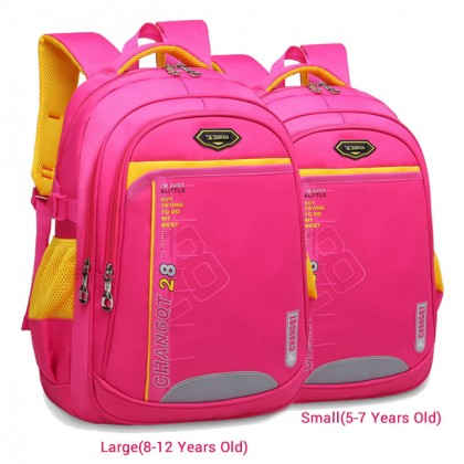 Kids Preschool Kindergarten Primary School Beg Sekolah Budak Student Bag MC446 LB3