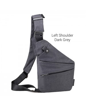 Man Left / Right Shoulder Crossbody Oxford Fabric Stylish Sling Bag Beg Lelaki MC493 RC5