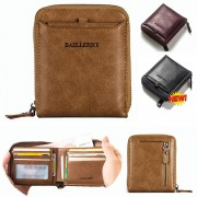 Baellerrry Man Multi-pockets Leather Short Wallet  MC444 A1