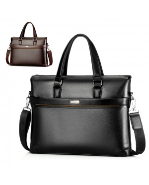 Man Formal Stylish Quality Leather Office Bag Hand Carry Sling Beg MC501 YH2