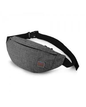 Unisex Sporty Waterproof Design Convenient Chest / Waist Pouch Bag MC503 LA3