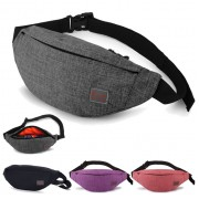 Unisex Sporty Waterproof Design Convenient Chest / Waist Pouch Bag MC503 YT5
